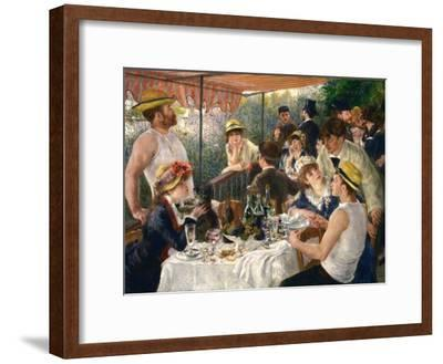 Luncheon of the Boating Party-Pierre-Auguste Renoir-Framed Giclee Print