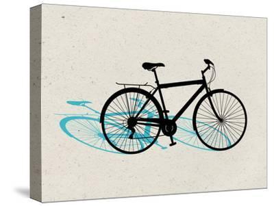 Beach Bike Pop Art--Stretched Canvas Print