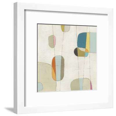 Molecular Motion II-Erica J^ Vess-Framed Art Print