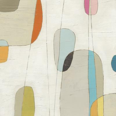 Molecular Motion III-Erica J^ Vess-Art Print