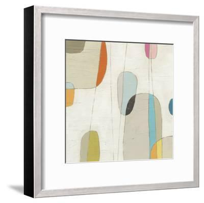Molecular Motion III-Erica J^ Vess-Framed Art Print