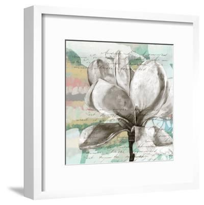 Pastel Magnolias I-Jennifer Goldberger-Framed Art Print