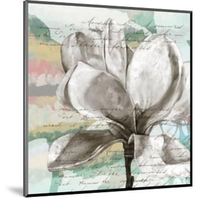 Pastel Magnolias I-Jennifer Goldberger-Mounted Art Print