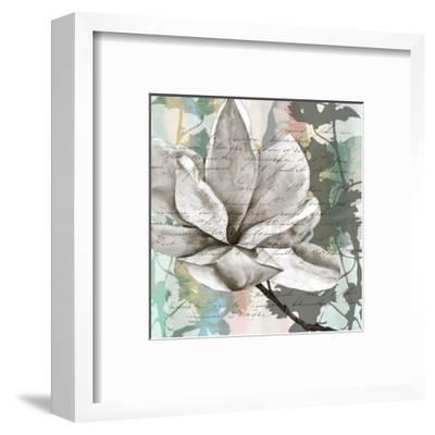 Pastel Magnolias II-Jennifer Goldberger-Framed Art Print