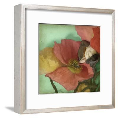 Aquatic Poppies I-Jennifer Goldberger-Framed Art Print