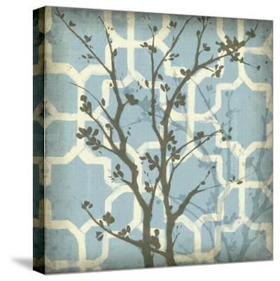 Silhouette and Pattern I-Jennifer Goldberger-Stretched Canvas Print