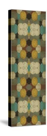 Circular Repeat IV-Jennifer Goldberger-Stretched Canvas Print