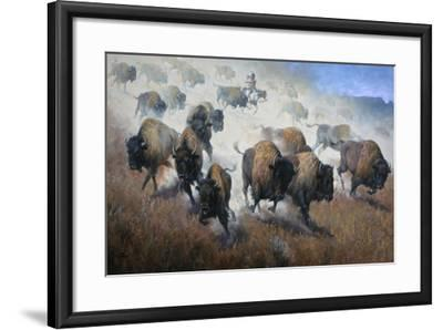 Thunder in the Dust-Jack Sorenson-Framed Art Print