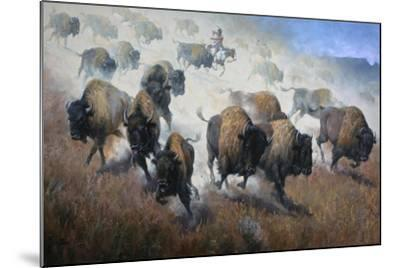 Thunder in the Dust-Jack Sorenson-Mounted Art Print