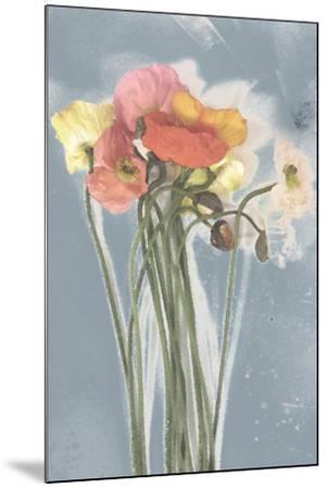 Poppy Spray III-Jennifer Goldberger-Mounted Art Print