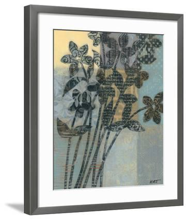 Quilted Bouquet II-Norman Wyatt Jr^-Framed Art Print