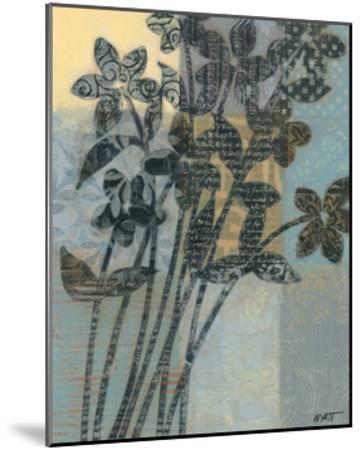 Quilted Bouquet II-Norman Wyatt Jr^-Mounted Art Print