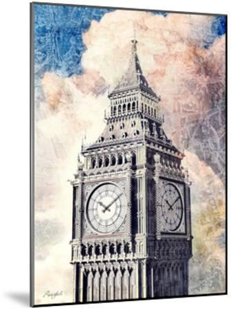 Distressed London-Roozbeh-Mounted Art Print