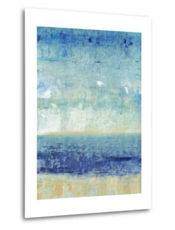Beach Horizon I-Tim O'toole-Metal Print