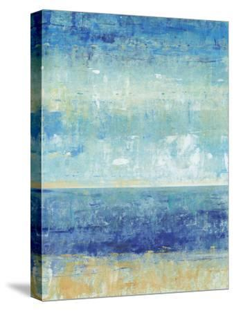 Beach Horizon II-Tim O'toole-Stretched Canvas Print