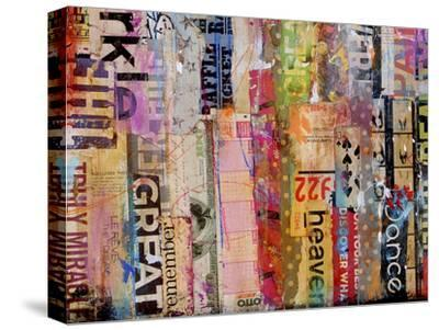 Metro Mix 21 III-Erin Ashley-Stretched Canvas Print
