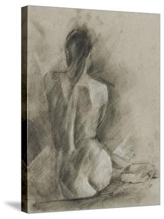 Charcoal Figure Study I-Ethan Harper-Stretched Canvas Print