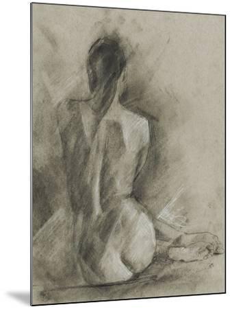 Charcoal Figure Study I-Ethan Harper-Mounted Art Print