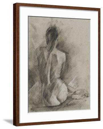 Charcoal Figure Study I-Ethan Harper-Framed Art Print