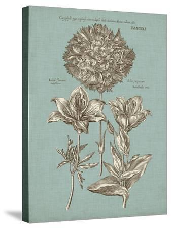 Chambray Chintz IV--Stretched Canvas Print
