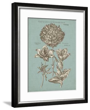 Chambray Chintz IV--Framed Art Print