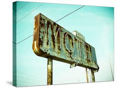 Vintage Motel I-Recapturist-Stretched Canvas Print