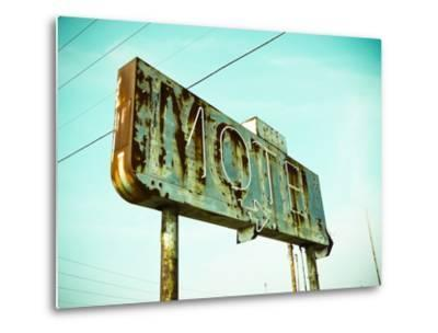 Vintage Motel I-Recapturist-Metal Print