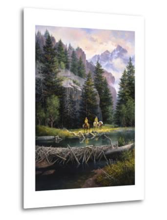 Cure of the Rockies-Jack Sorenson-Metal Print
