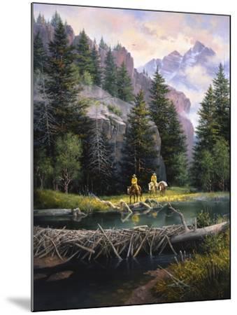 Cure of the Rockies-Jack Sorenson-Mounted Art Print