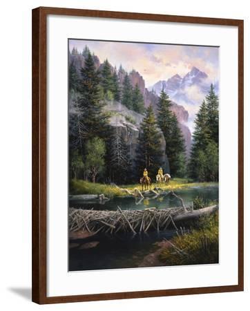 Cure of the Rockies-Jack Sorenson-Framed Art Print