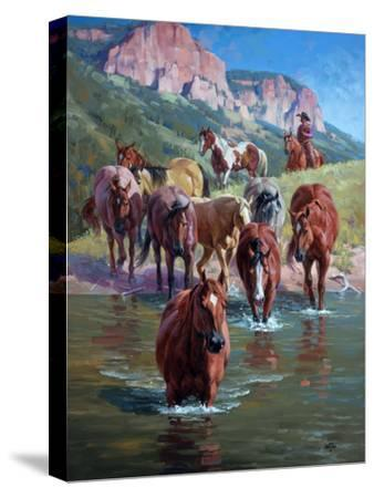 The Crossing-Jack Sorenson-Stretched Canvas Print