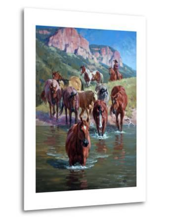 The Crossing-Jack Sorenson-Metal Print