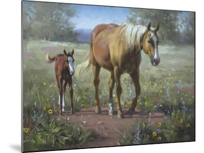 Comin' In-Jack Sorenson-Mounted Art Print