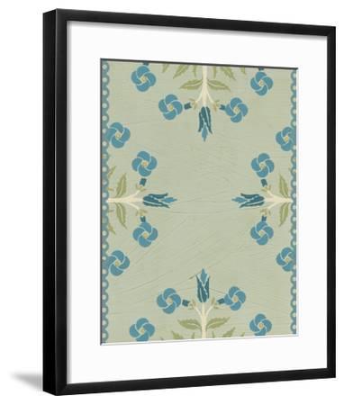 Cottage Vignette IV-Erica J^ Vess-Framed Art Print