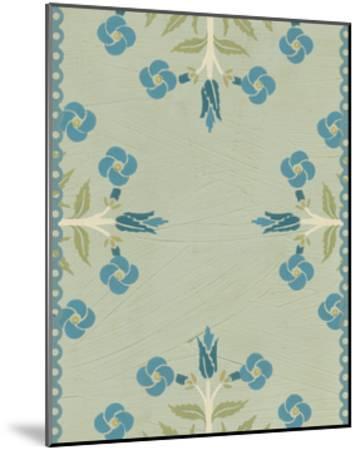 Cottage Vignette IV-Erica J^ Vess-Mounted Art Print