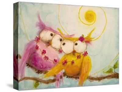 Hoo's Bound by Love-Marabeth Quin-Stretched Canvas Print