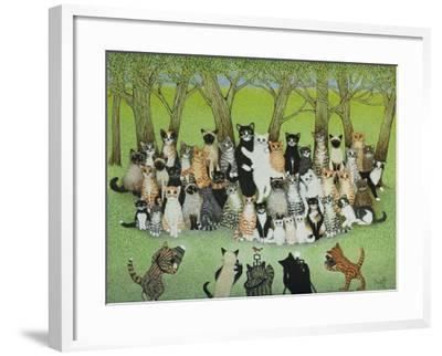 Watch the Birdie-Pat Scott-Framed Giclee Print