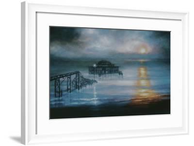Lucent, 2006 Old Brighton Pier-Lee Campbell-Framed Giclee Print