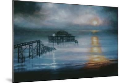 Lucent, 2006 Old Brighton Pier-Lee Campbell-Mounted Giclee Print
