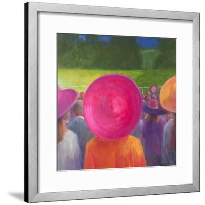 Finishing Post, Hats, 2014-Lincoln Seligman-Framed Giclee Print