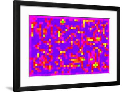 Square Fixation, 2013-Peter McClure-Framed Giclee Print