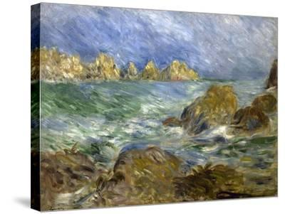 Marine: Guernesey-Pierre-Auguste Renoir-Stretched Canvas Print