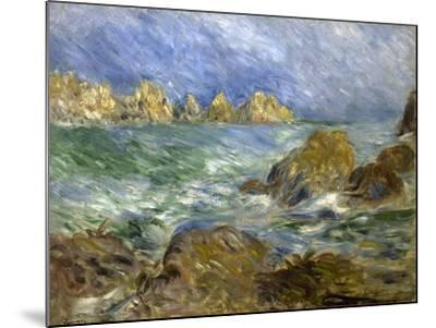 Marine: Guernesey-Pierre-Auguste Renoir-Mounted Giclee Print
