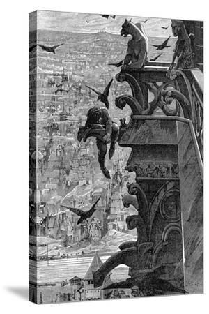 Notre-Dame de Paris-Luc-olivier Merson-Stretched Canvas Print