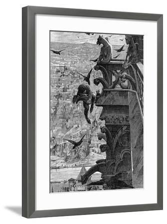 Notre-Dame de Paris-Luc-olivier Merson-Framed Giclee Print