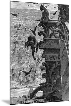Notre-Dame de Paris-Luc-olivier Merson-Mounted Giclee Print
