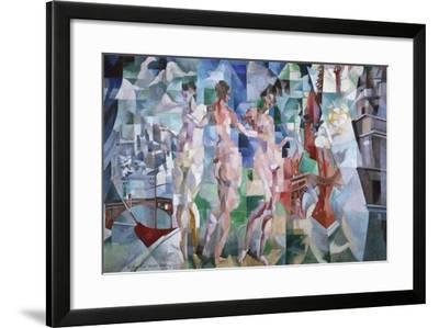 La ville de Paris-Robert Delaunay-Framed Giclee Print