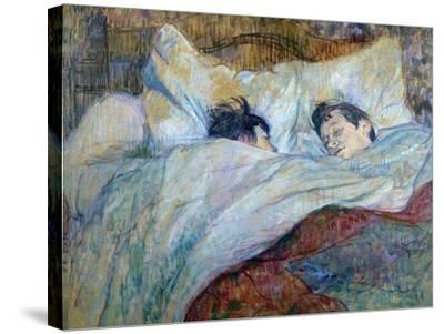 Le Lit-Henri de Toulouse-Lautrec-Stretched Canvas Print