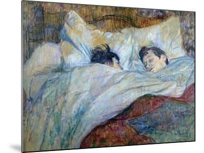 Le Lit-Henri de Toulouse-Lautrec-Mounted Giclee Print
