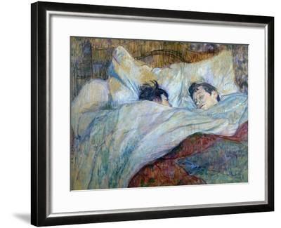 Le Lit-Henri de Toulouse-Lautrec-Framed Giclee Print